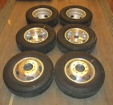 "NTO 05-16 FORD SUPER DUTY F350 DUALLY 17"" TIRES & ALUMINUM WHEELS"