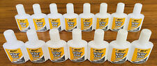 LOT OF 15 NEW BIC QUICK DRY WHITE OUT CORRECTION FLUID 0.7oz School Supplies