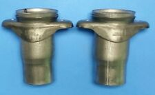 "3"" HEADER TO 2.5"" EXHAUST PIPE BALL AND SOCKET 2 BOLT HEADER COLLECTOR REDUCERS"
