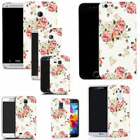 gel rubber case cover for  Mobile phones - pink carnation silicone
