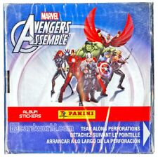 PANINI AVENGERS  ASSEMBLE STICKER 24 BOX CASE - $1200 VALUE !!!