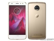 Motorola Moto Z Z2 Play 2nd Gen XT1710-02 32GB - White Gold (Verizon) Grade A-