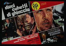 FOTOBUSTA 4, DIECI CUBETTI DI GHIACCIO Run Like a Thief GLASSER THRILLER POSTER
