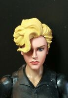 HEAD ONLY Gi joe Classified Marvel Legends Ms Marvel Carol Custom Painted Head