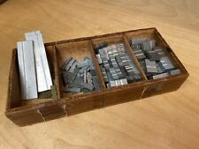 Kingsley Machine - 18pt. Spacers & Wooden Tray - Hot Foil Stamping Machine