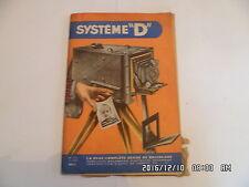 SYSTEME D N°123 03/1956 MOTOCULTEUR CHAISE RUSTIQUE TABLE PLIANTE CHEMIN    D38