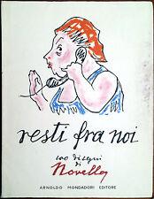 Giuseppe Novello, Resti fra noi (100 disegni di Novello), Ed. Mondadori, 1967