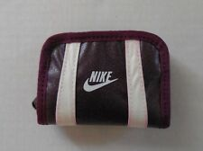 NIKE Unisex Small Coin Wallet Color Bordeaux/sail New