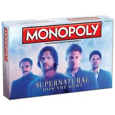 NEW Monopoly: Supernatural Collector's Edition Board Game TV Series 6TA9zi1