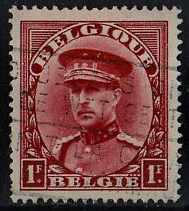 BELGIUM 1931 King Albert I /Mi:BE 305/ 1fr brown STAMP