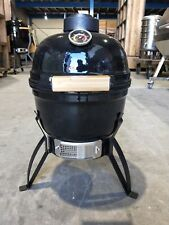 "NEW 13"" HIBACHI CHARCOAL KAMADO BBQ SMOKER GRILL - SMOOTH BLACK"