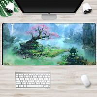 XXL Large Size Gaming Mouse Pad Fantasy Nature er Computer PC Mousepad Desk Mat