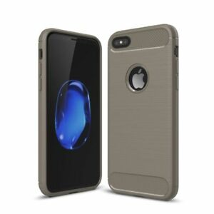 Shockproof Silicone Light Brushed Protective Case For Apple iPhone 6/6SPlus Grey