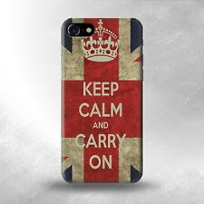New iphone 5/5s keep Calm and Carry On British Flag hard case