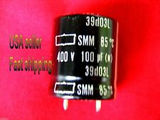 2 pcs   -   100uf   400v   electrolytic capacitors