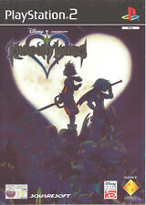 KINGDOM HEARTS for Playstation 2 PS2 - with box and manual - PAL