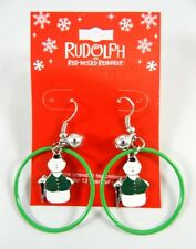 New Sam The Snowman Earrings from Rudolph the Red Nose Reindeer Show #E1205