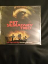 Pet Sematary Two,film Soundtrack,limited Edition Of 1000,plus Insert Signed