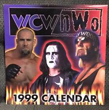 WCW NWO 1999 Wrestling Calendar New Hogan, Luger, Hall, Nitro Girls