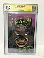 DC COMICS Batman Venom 1993 CGC 8.0 SIGNED LOPEZ & EEDEN GRAPHIC NOVEL