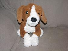Ikea Gosig Valp Puppy Dog Plush Brown White Black Beagle Stuffed Lovey Toy