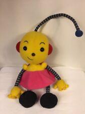 "Disney Store Rolie Polie Olie ZOWIE Plush Doll Stuffed Toy 15"" Nelvana In Trust"