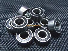 5 PCS - MR137-2RS (7x13x4 mm) Rubber Sealed Ball Bearing Bearings Black 7*13*4