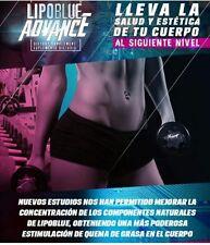 LIPOBLUE ADVANCE - *NEW*MAS FUERTE + CONCENTRADO!!/ SUPLEMENTO DIETARIO