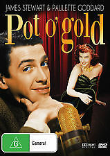 POT O' GOLD (1941) - NEW & SEALED REGION 4 DVD (JAMES STEWART, PAULETTE GODDARD)