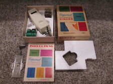 Vintage Singer Professional Buttonholer Complete In Box w/ Instructions 38116