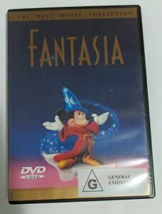 Fantasia DVD, Disney, 2000, Region Free