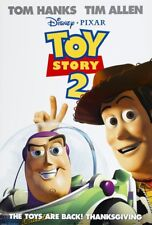 TOY STORY 2 MOVIE POSTER 2 Sided ORIGINAL 27x40 DISNEY TIM ALLEN TOM HANKS
