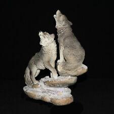 Wolfs Figur Wolf Polarwolf Indianer Dekofigur Dekoration Skulptur Statue IM21