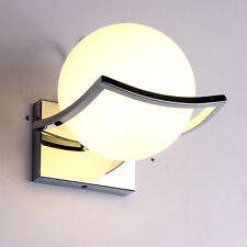 Ball Shaped Wall Light Fixture Sconce Lamp Glass Lampshade Bird decor