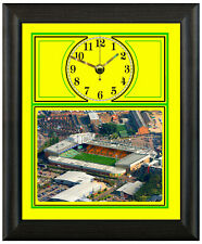 More details for football clock norwich city canaries carrow road photo