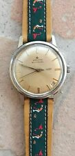 Rare ZENITH stellina 2452 PC watch automatic 34mm acier steel NR