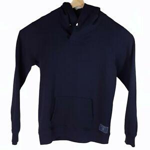 SCOTCH & SODA Caliente Amsterdam Couture Pullover Hoodie Navy Blue Men's XL EUC