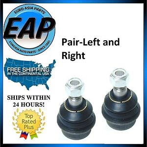 For Mercedes W116 W123 W126 PAIR LEFT RIGHT Front Lower Control Arm Ball Joint