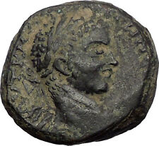 ELAGABALUS 219AD Edessa Mesopotamia Silver Tetradrachm Ancient Roman Coin i56359