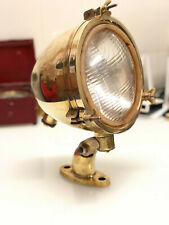 NAUTICAL MARITIME BOAT MINI SHIP ANTIQUE SPOT LIGHT