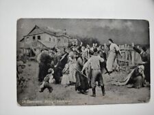 Art Antique Russian Postcard PIMONENKO Victim of Fanaticism unposted