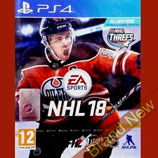 NHL 18 - PlayStation 4 PS4 ~12+ Brand New & Sealed!