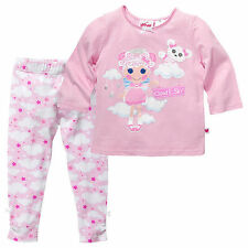 NWT Lalaloopsy Licensed Girls Glitter Pyjamas Long Sleeve Top Pants Size 8