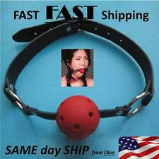 Role Play - Adult TOYS - mouth ball gag - premium quality - GIMP GEAR