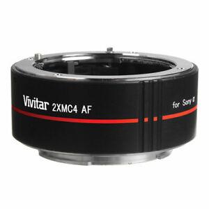 Vivitar 2X Af Objektiv Telekonverter F sony Alfa Kamera a55 a65 a300 a500 a550