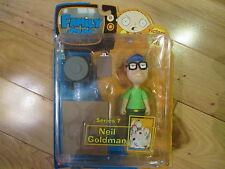 Family Guy Neil Goldman Action Figure Series 7 Mezco 2007 Brand New in Package!!