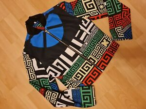 Jacke Blogger Bunt Design Gr. M L Shein Blazer