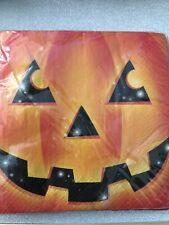 Halloween Pumpkins Lunch Paper Napkins Pack Of 16