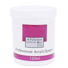 1pc Bottle120g White Acrylic Powder Nail Art Tip Manicure Builder Molding kit