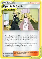 Pokemon Cynthia & Caitlin - 189/236 - Uncommon NM-Mint, English